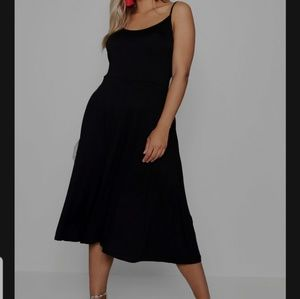 Boohoo Jersey Skater Dress
